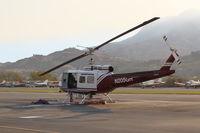 Santa Paula Airport (SZP) - N205GH 1965 Bell UH-1H IROQUOIS, Lycoming T53L-703 Turboshaft, Restricted class at SZP Fire Base - by Doug Robertson