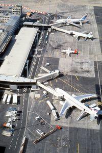 Bordeaux Airport, Merignac Airport France (LFBD) - Bordeaux terminal A in....1990 ? - by JC Ravon - FRENCHSKY