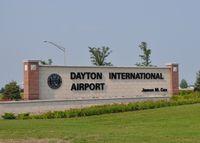 James M Cox Dayton International Airport (DAY) - Entrance to the Dayton International Airport ~ Vandalia, Ohio. Visit my aviation blog by copy/paste: https://steemit.com/@rollie13 . - by Rollie Puterbaugh