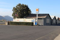 Santa Paula Airport (SZP) - Santa Paula self-serve SHELL 100LL Fuel Dock, note lower price - by Doug Robertson