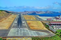 Madeira Airport (Funchal Airport), Funchal, Madeira Island Portugal (LPMA) - Seconds To Touchdown, From The Captain's POV  - by JPC