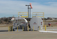 Erie Municipal Airport (EIK) - Refueling point - by olivier Cortot
