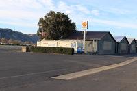 Santa Paula Airport (SZP) - Santa Paula Self-serve SHELL 100LL, price unchanged - by Doug Robertson