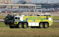 Dallas/fort Worth International Airport (DFW) - Fire/Crash Rescue - by Mark Pasqualino