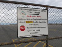 Four Corners Regional Airport (FMN) - follow the rules ! - by olivier Cortot