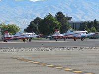 Boise Air Terminal/gowen Fld Airport (BOI) - Two Air Tractors parked on the NIFC ramp. - by Gerald Howard
