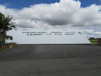 Ardmore Airport - old blister hangar - no flying club inside that anymore. - by magnaman