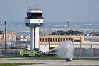 Portela Airport (Lisbon Airport) - fire station training - by JC Ravon - FRENCHSKY