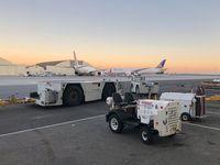 San Francisco International Airport (SFO) - Aircraft tugs at San Francisco Airport. 2018. - by Clayton Eddy