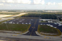 Cancún International Airport, Cancún, Quintana Roo Mexico (MMUN) - Taken from N376DA (CUN-LAX) - by Micha Lueck