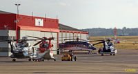 Aberdeen Airport - Aberdeen East side Ramp - by Clive Pattle