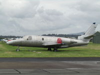 Archerfield Airport - unknown Citation at YBAF - anyone know its ID would love to hear from you!!! Looks like it used to be dark blue and white with cheatlines down side. - by magnaman