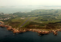 St. Mary's Airport - St Marys Isles of Scilly as seen on departure in G-SASX - by Pete Hughes
