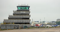 Aberdeen Airport - The 'Wedding Cake' ATC Tower at Aberdeen - by Clive Pattle