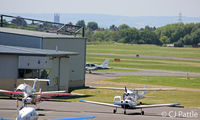 Gloucestershire Airport - General view looking west at EGBJ - by Clive Pattle