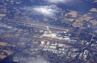 Hanover/Langenhagen International Airport - Hanover Airport taken at about 32000 ft from G-EUYP - by moxy
