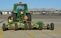 Livermore Municipal Airport (LVK) - Tractor Livermore Airport California 2018. - by Clayton Eddy