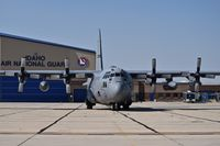 Boise Air Terminal/gowen Fld Airport (BOI) - C-130 from the West Virginia ANG parked on the Idaho ANG ramp. - by Gerald Howard