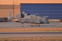 Boise Air Terminal/gowen Fld Airport (BOI) - Navy F-5N taxiing on Bravo in front of A-10C of the Idaho ANG. - by Gerald Howard