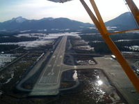 Petersburg James A Johnson Airport (PSG) - Runway Safety Area under construction in 2009.