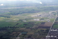 Christchurch International Airport - Christchurch International viewed from the south-east - by Peter Lewis