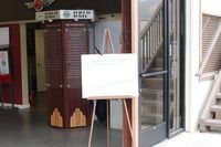 Santa Paula Airport (SZP) - Welcome to Santa Paula Airport Aviation Museum Main Building just inside airport entrance-open First Sundays-rain cancels - by Doug Robertson