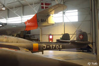 RAF Cosford - General view of exhibits at the RAF Museum Cosford in 2009 - by Clive Pattle