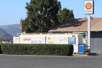 Santa Paula Airport (SZP) - Santa Paula SHELL 100LL Self-Serve Fuel Dock-no price change - by Doug Robertson