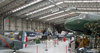 Duxford - View inside The Fighter Collection hangar at IWM Duxford - by Clive Pattle