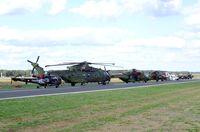 Kleine Brogel Air Base Airport, Kleine Brogel Belgium (EBBL) - part of the flightline display at the 2018 BAFD Spottersday at Kleine Brogel airbase - by Ingo Warnecke