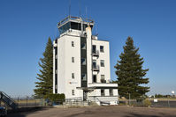 Cheyenne Rgnl/jerry Olson Field Airport (CYS) - Tower of Cheyenne airport (out of order) - by Jack Poelstra