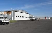 Rexburg-madison County Airport (RXE) - Rexburg-madison airport ID - by Jack Poelstra