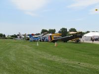 Wittman Regional Airport (OSH) - outside museum at pioneer airport OSH - by magnaman
