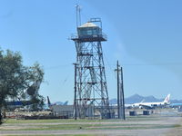 Pinal Airpark Airport (MZJ) - The old Airport Control Tower - by Daniel Metcalf