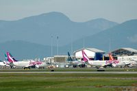 Vancouver International Airport - Sunday activity at YVR - by Manuel Vieira Ribeiro