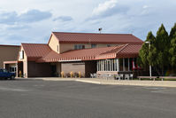 Yellowstone Regional Airport (COD) - General aviation terminal of Yellowstone reg. airport, Cody WY - by Jack Poelstra
