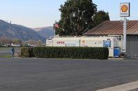 Santa Paula Airport (SZP) - Santa Paula Shell 100LL Self-Serve Fuel Dock, note lower price  - by Doug Robertson