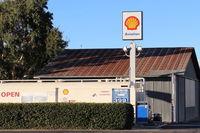 Santa Paula Airport (SZP) - Santa Paula SHELL 100LL Self-Serve Fuel Dock, note lowered price - by Doug Robertson