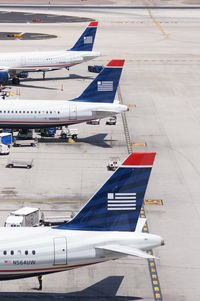 Phoenix Sky Harbor International Airport (PHX) - Back is the US Airways days. - by Dave Turpie