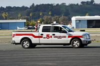 Buchanan Field Airport (CCR) - Rescue truck Buchanan Field 2018. - by Clayton Eddy