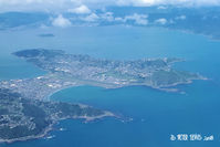 Wellington International Airport - From the climb out, tracking north. - by Peter Lewis