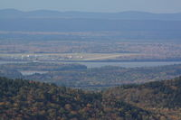 Hancock County-bar Harbor Airport (BHB) - Taken from the top of Cadillac Mountain in Acadia National Park - by Timothy Aanerud