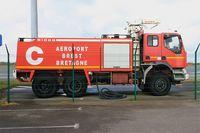 Brest Bretagne Airport, Brest France (LFRB) - Fire truck, Brest-Bretagne airport (LFRB-BES) - by Yves-Q