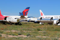 Pinal Airpark Airport (MZJ) - This has become quite an aircraft graveyard. - by Dave Turpie