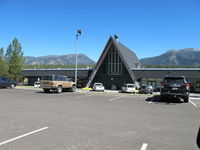 Lake Tahoe Airport (TVL) - the terminal - by olivier Cortot