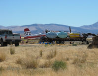 Minden-tahoe Airport (MEV) - Air tractor refuelling - by olivier Cortot