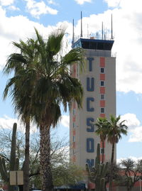 Tucson International Airport (TUS) - the control tower - by olivier Cortot