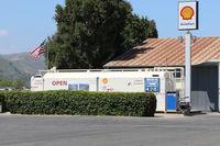 Santa Paula Airport (SZP) - Santa Paula Self-Serve SHELL 100 Low lead Fuel Dock., No price change. - by Doug Robertson