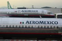 Lic. Benito Juárez International Airport, Mexico City, Distrito Federal Mexico (MMMX) - Aeromexico planes at Mexico - by Michel Teiten ( www.mablehome.com )