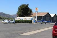 Santa Paula Airport (SZP) - Santa Paula SHELL 100LL Self-Serve Fuel Dock, two pumps, no price change - by Doug Robertson